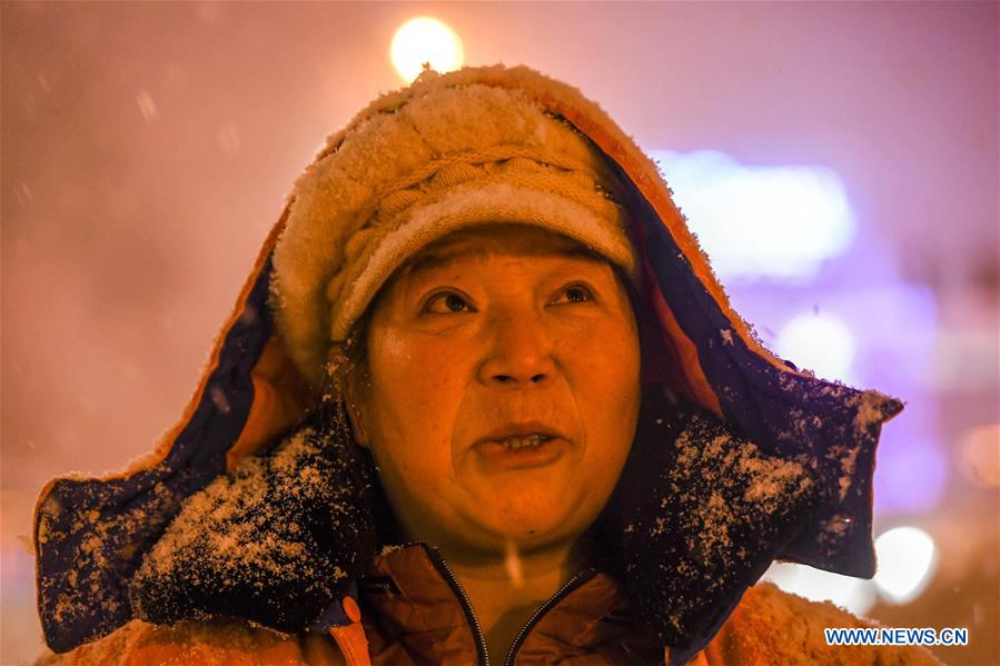 CHINA-XINJIANG-URUMQI-SNOWFALL (CN)