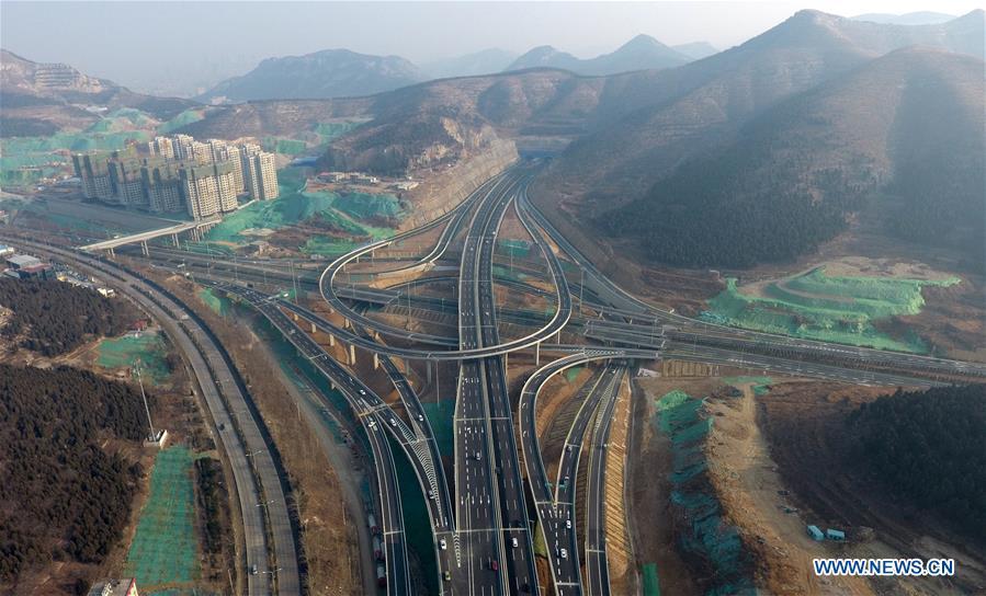 CHINA-JINAN-OVERPASS(CN)