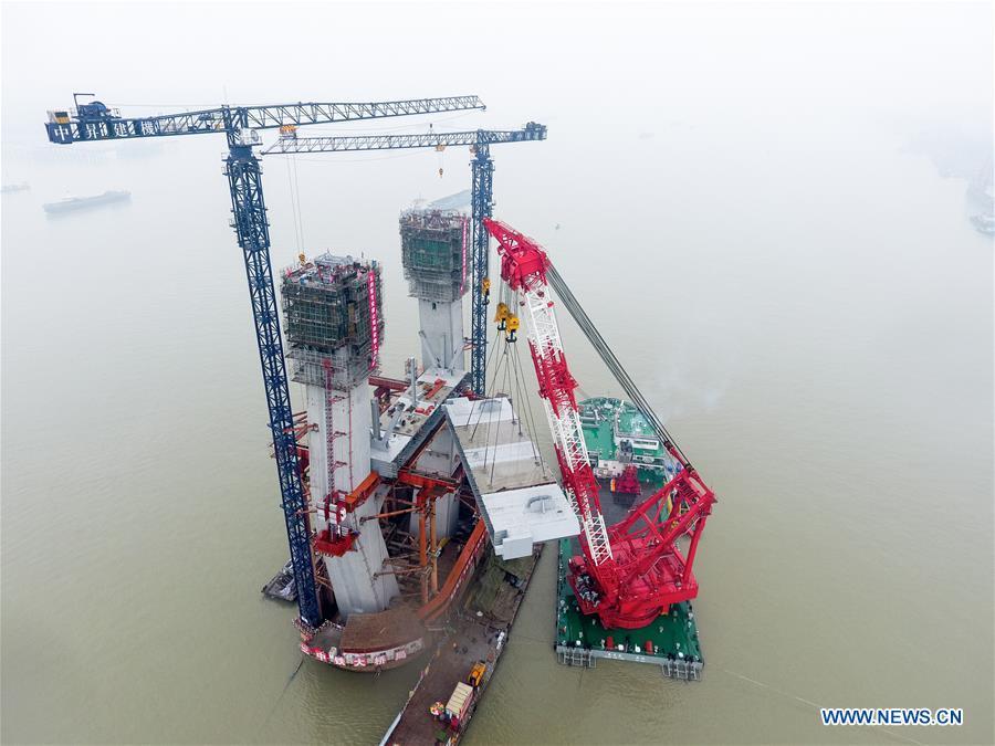 CHINA-ANHUI-WUHU-BRIDGE CONSTRUCTION (CN)