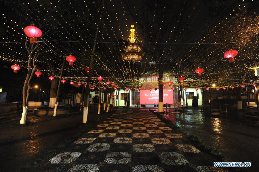 #CHINA-JIANGSU-HANSHAN TEMPLE-LANTERNS (CN)