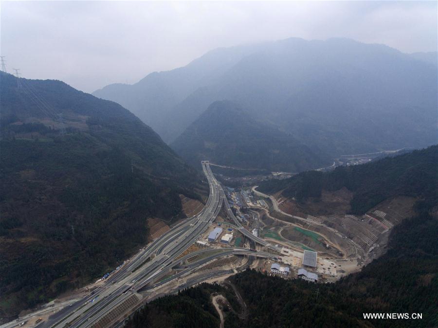 CHINA-SICHUAN-HIGHWAY PROGRESS (CN)