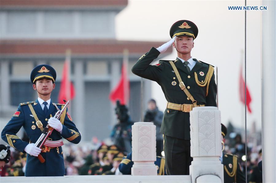 CHINA-BEIJING-PLA-FLAG-RAISING CEREMONY(CN)