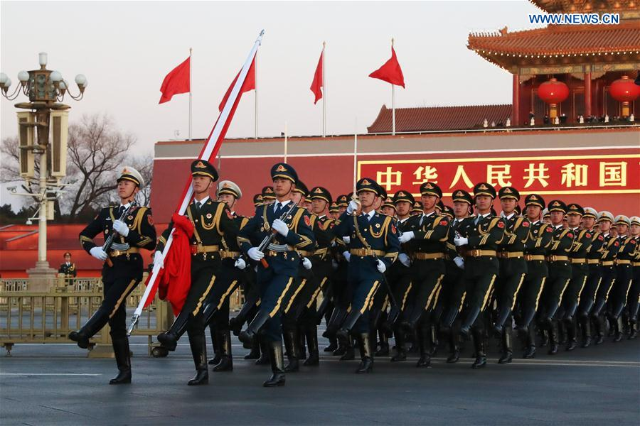 CHINA-BEIJING-PLA-FLAG-RAISING CEREMONY(CN)