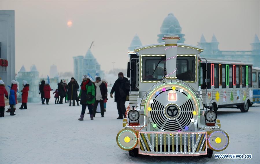 CHINA-HARBIN-NEW YEAR (CN)
