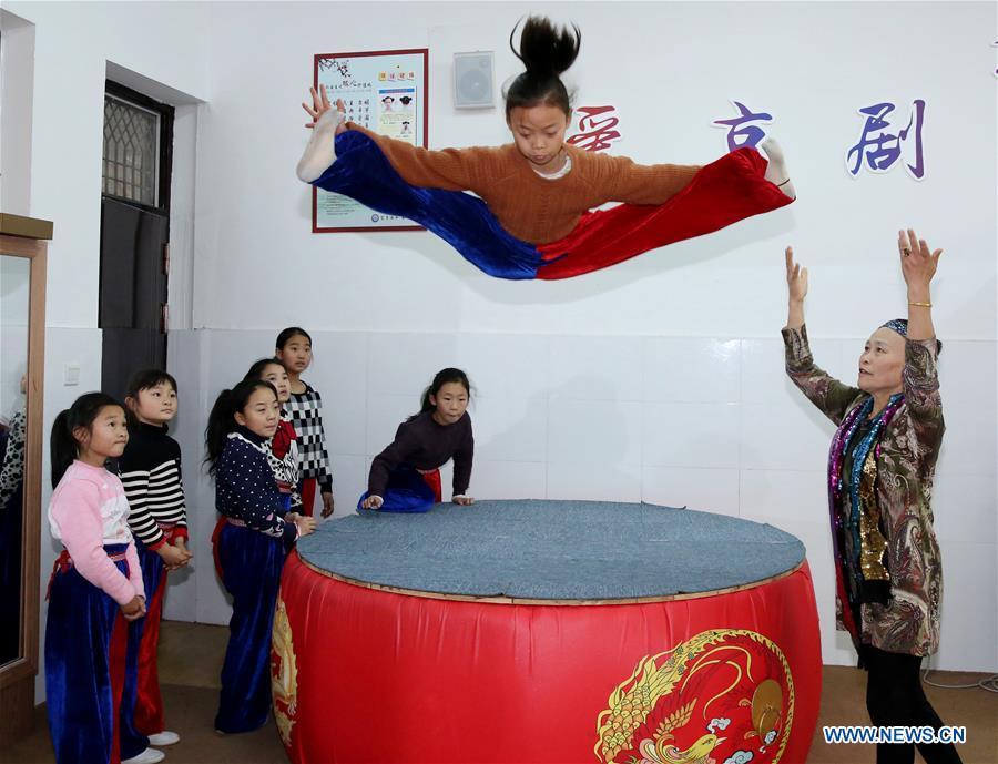 #CHINA-JIANGSU-PEKING OPERA-ELEMENTARY SCHOOL(CN)