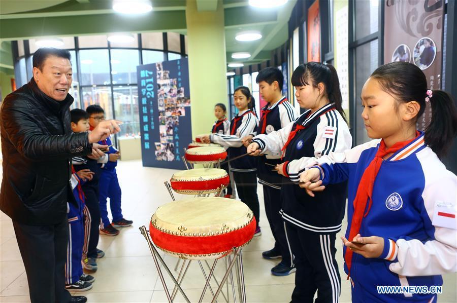 #CHINA-TIANJIN-INTANGIBLE CULTURAL HERITAGE-EDUCATION (CN)