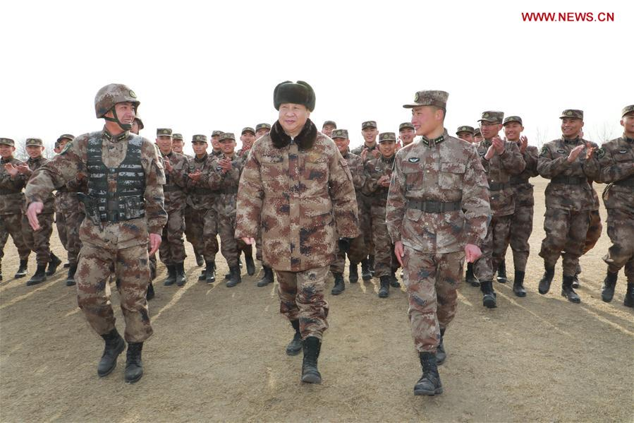 Xi stresses building elite combat force