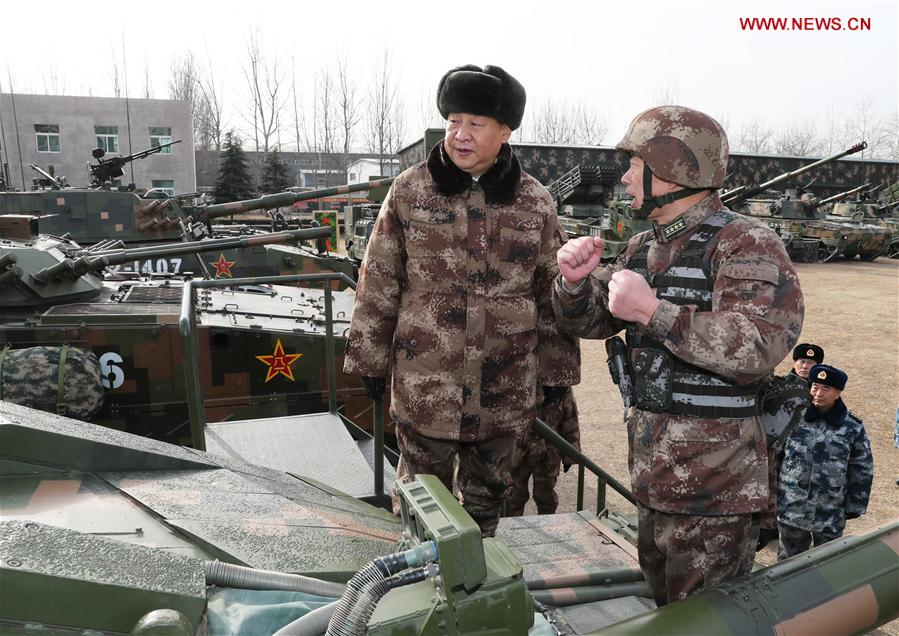 CHINA-XI JINPING-CENTRAL THEATER COMMAND-INSPECTION (CN)
