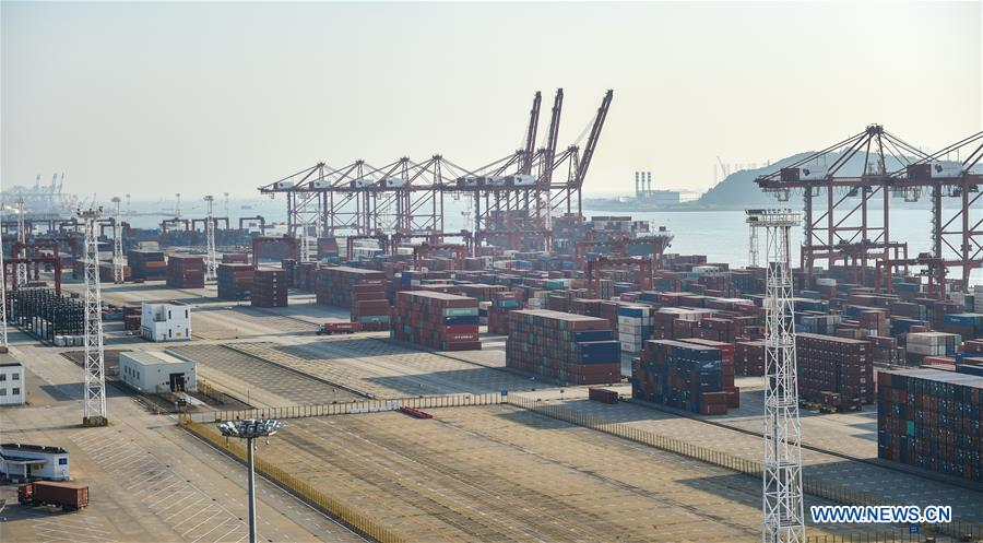 CHINA-SHENZHEN PORT-CONTAINER THROUGHPUT (CN)