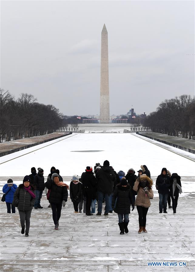 U.S.-WASHINGTON D.C.-SEVERE COLD