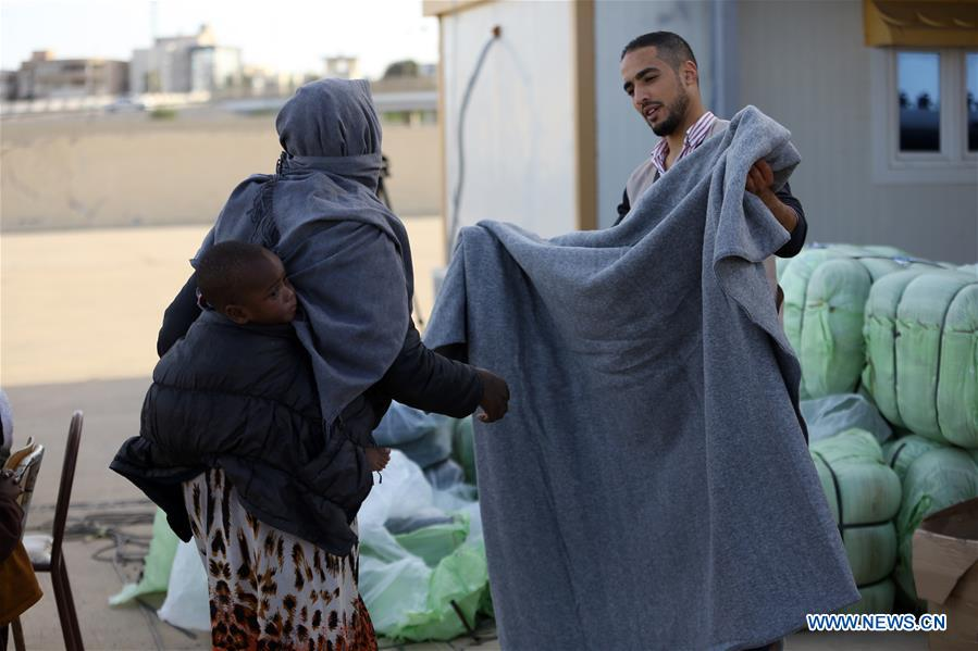 LIBYA-TRIPOLI-IMMIGRANTS-RESCUE