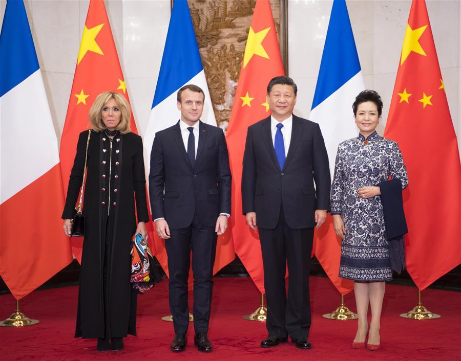 CHINA-BEIJING-XI JINPING-MACRON-MEETING (CN)