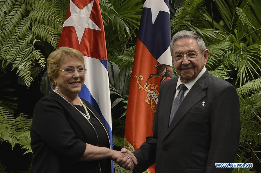 CUBA-HAVANA-CHILE-POLITICS