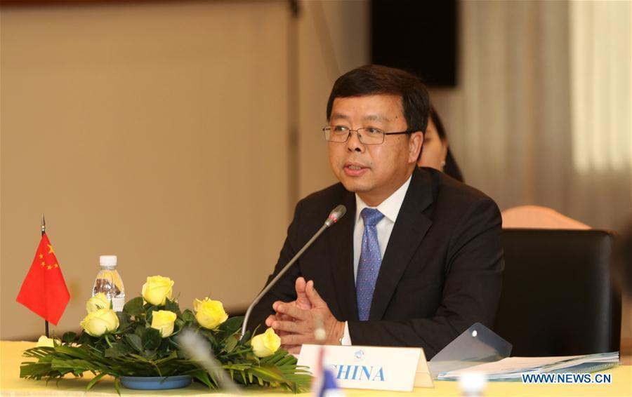 CAMBODIA-PHNOM PENH-LMC-SENIOR OFFICIALS-MEETING
