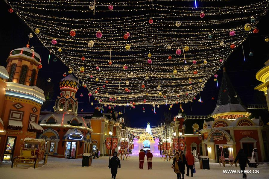 CHINA-HEILONGJIANG-HARBIN-PARK (CN)
