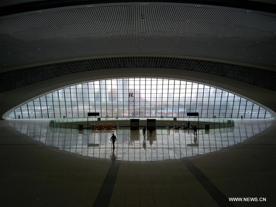 CHINA-CHONGQING-RAILWAY STATION-CONSTRUCTION (CN)