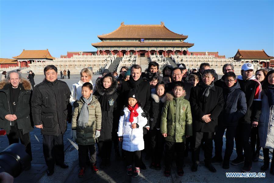 CHINA-BEIJING-FRANCE-MACRON-PALACE MUSEUM-VISIT(CN)