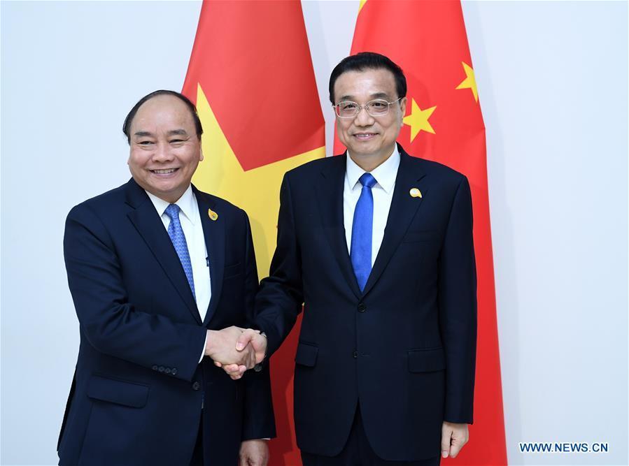 CAMBODIA-PHNOM PENH-CHINA-LI KEQIANG-VIETNAMESE PM-MEETING