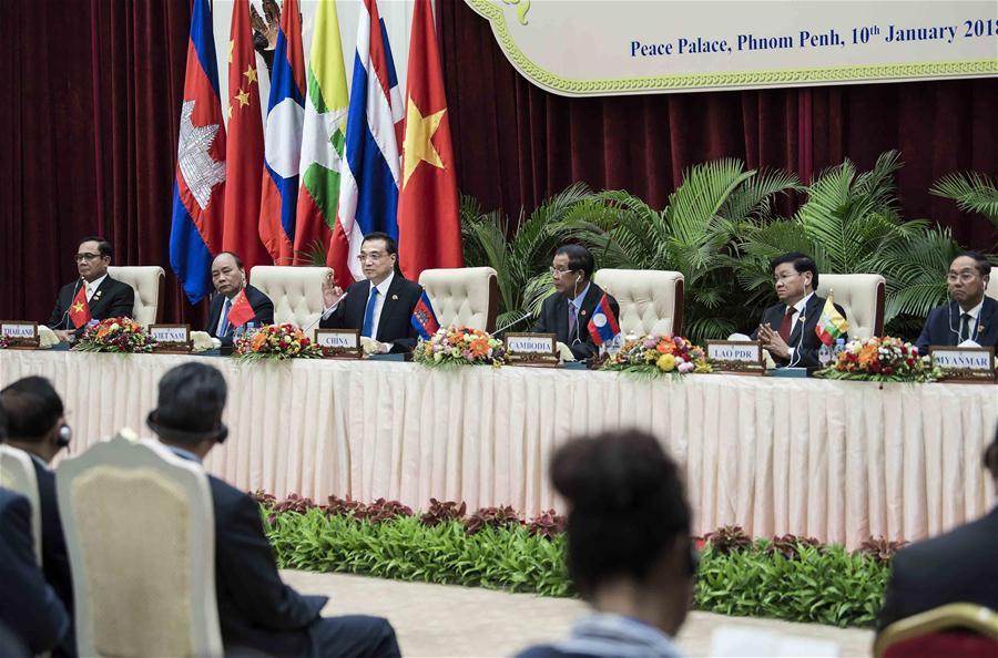 CAMBODIA-PHNOM PENH-LI KEQIANG-2ND LMC-PRESS