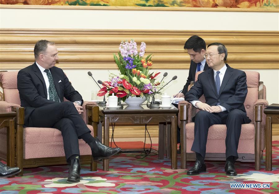 CHINA-BEIJING-YANG JIECHI-BRITAIN-MEETING (CN)