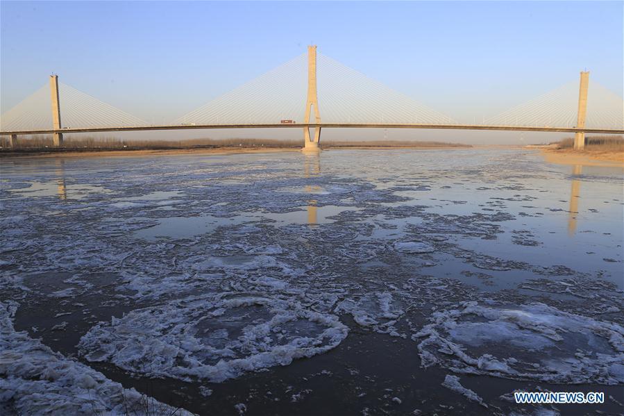 #CHINA-SHANDONG-YELLOW RIVER-ICE (CN)