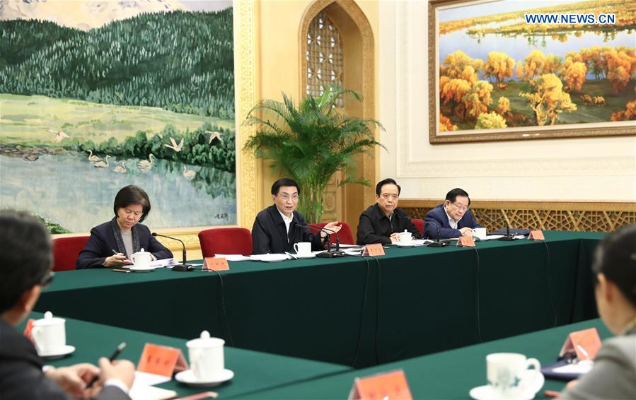 CHINA-BEIJING-WANG HUNING-MASS ORGANIZATIONS-MEETING (CN)