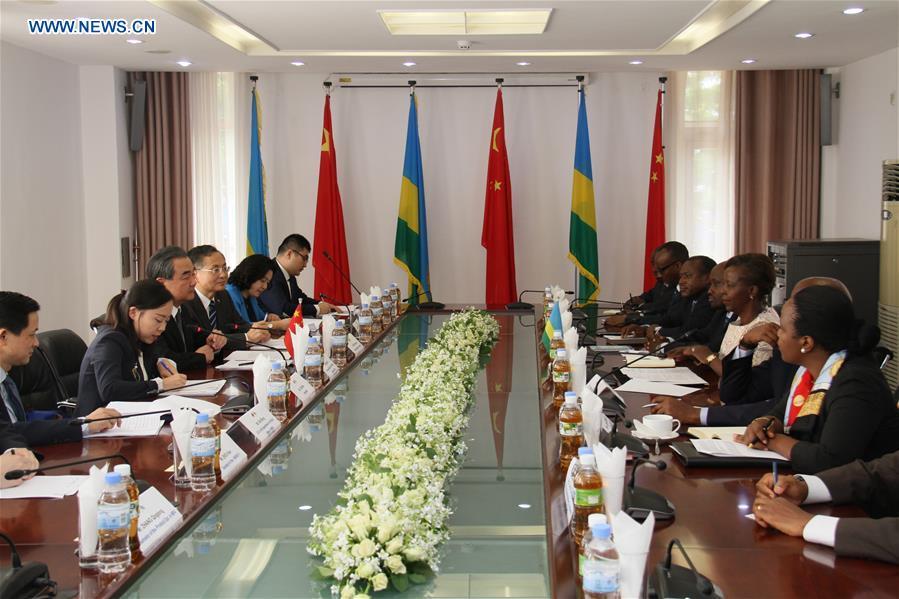 RWANDA-KIGALI-CHINA-RWANDA-FM-MEETING