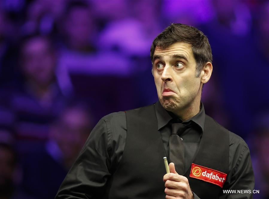 Ronnie O\'Sullivan beats Marco Fu 6-0 during Snooker Masters 2018 ...