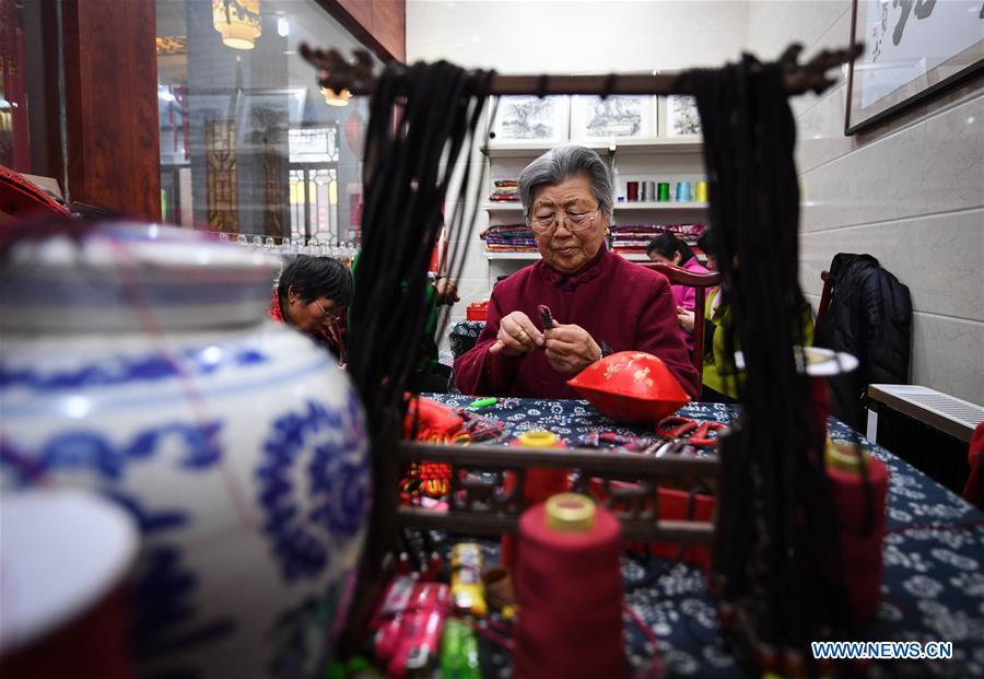CHINA-JIANGSU-XUZHOU-CRAFTSMANSHIP-SACHET (CN)