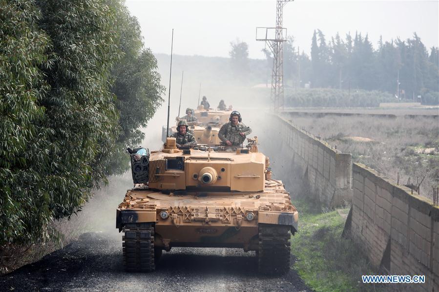 TURKEY-HATAY-TURKISH TROOPS-SYRIA-AFRIN-ENTRY