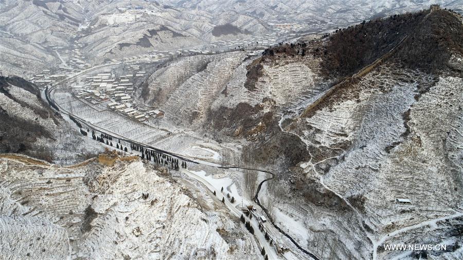 #CHINA-HEBEI-SNOWFALL(CN)