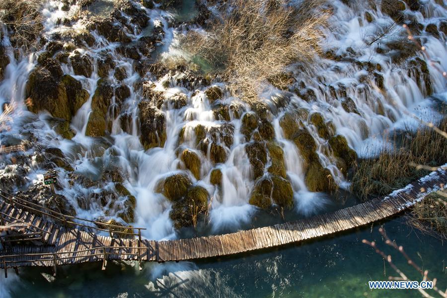 Winter Scenery Of Croatia S Plitvice Lakes National Park