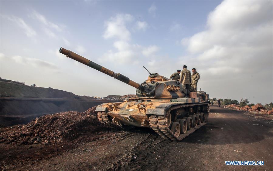 SYRIA-AFRIN-TURKISH TROOPS