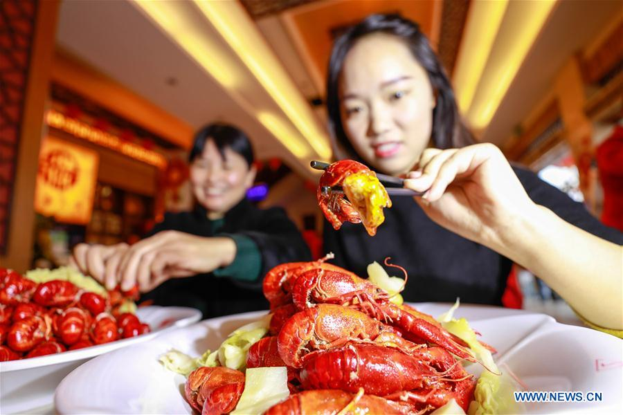 #CHINA-JIANGSU-CRAYFISH-DEMAND INCREASE (CN)