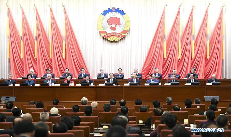 CHINA-BEIJING-YU ZHENGSHENG-CPPCC-SESSION (CN)