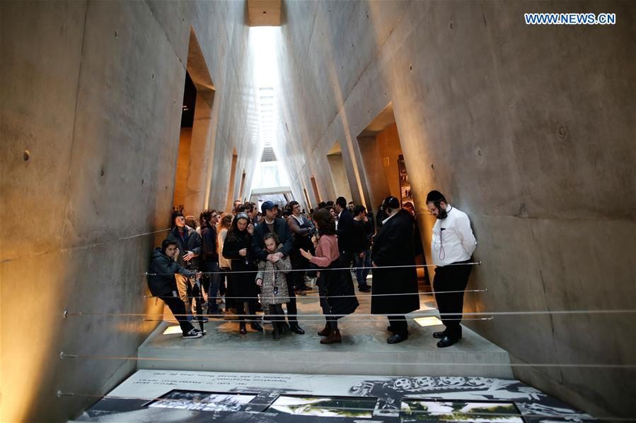 MIDEAST-JERUSALEM-YAD VASHEM-INTERNATIONAL HOLOCAUST REMEMBRANCE DAY