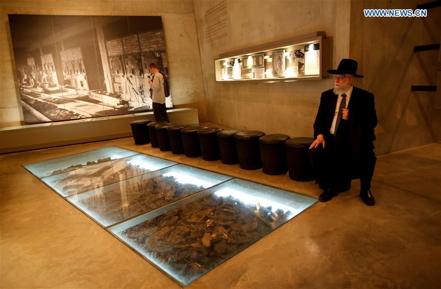 MIDEAST-JERUSALEM-YAD VASHEM-INTERNATIONAL HOLOCAUST REMEMBRANCE DAY