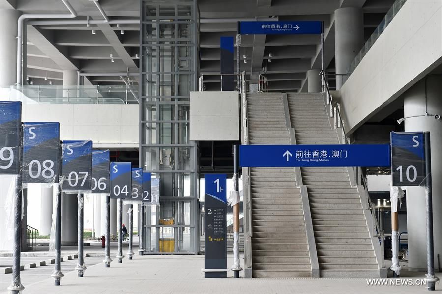 CHINA-GUANGDONG-ZHUHAI-SEA BRIDGE-PORT (CN)