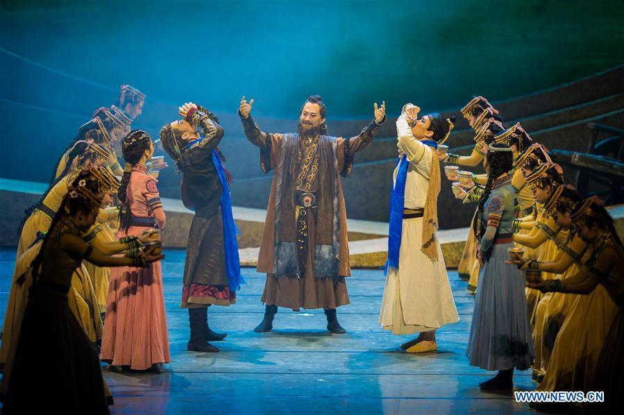 #CHINA-INNER MONGOLIA-DANCE-CARAVAN (CN)