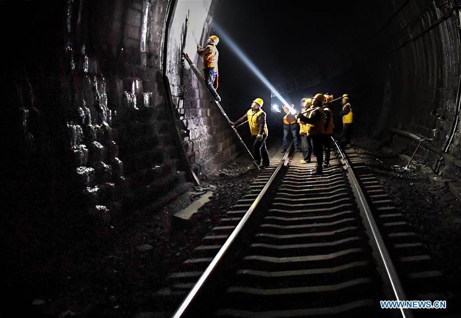 CHINA-HENAN-SANMENXIA-RAILWAY TUNNEL-DEICING (CN)