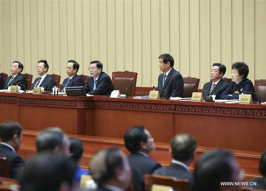China's legislature discusses Constitution revision