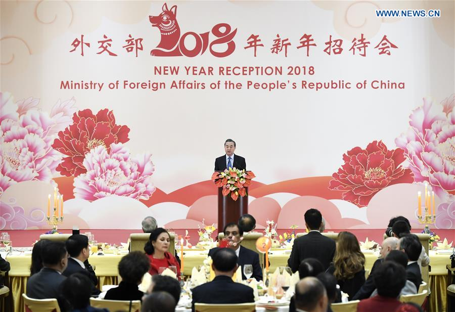 CHINA-BEIJING-MINISTRY OF FOREIGN AFFAIRS-RECEPTION (CN)