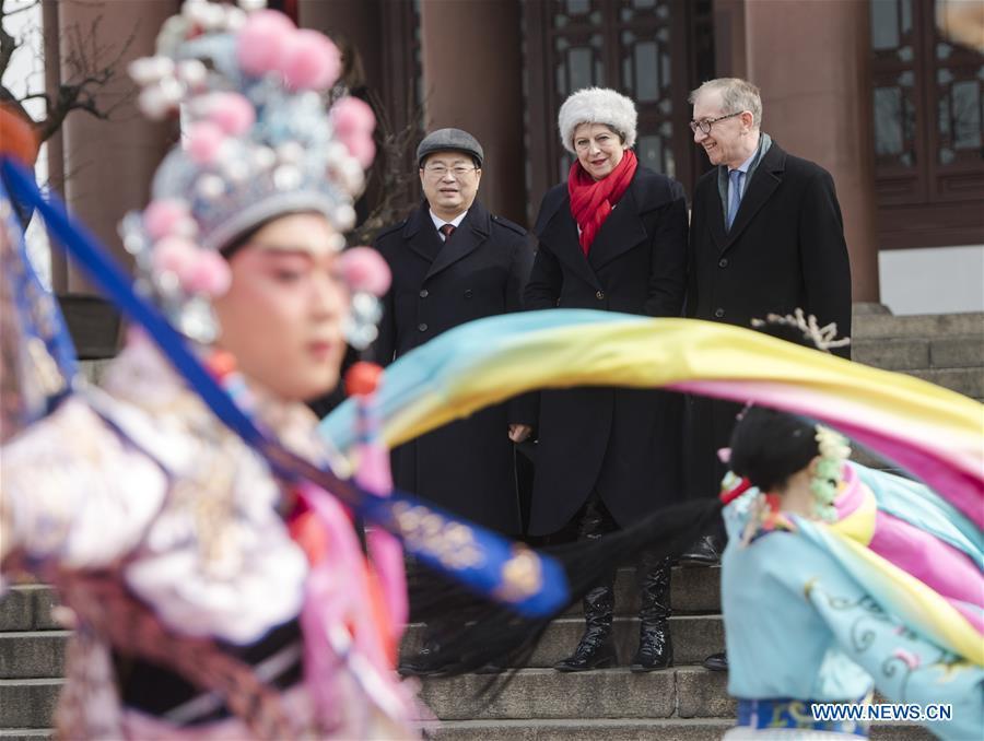 CHINA-WUHAN-BRITISH PM-VISIT (CN)