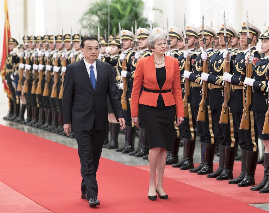 CHINA-BEIJING-LI KEQIANG-BRITISH PM-DIALOGUE (CN)