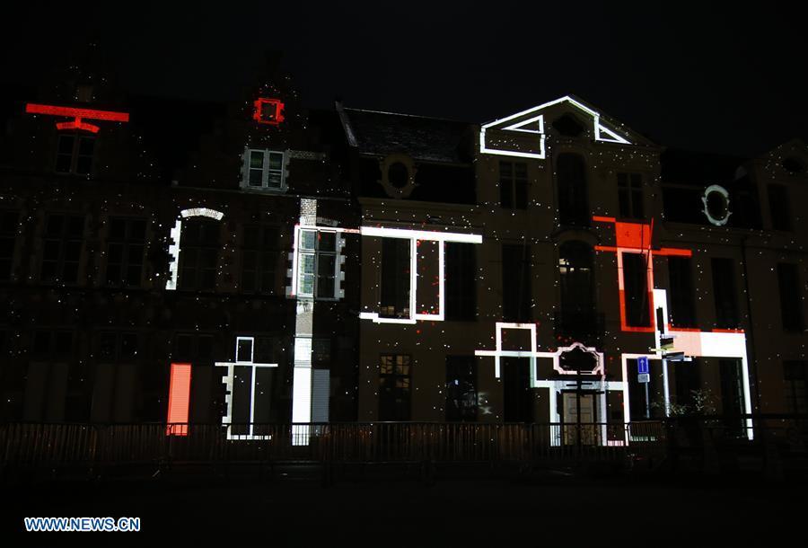 BELGIUM-GHENT-LIGHT FESTIVAL