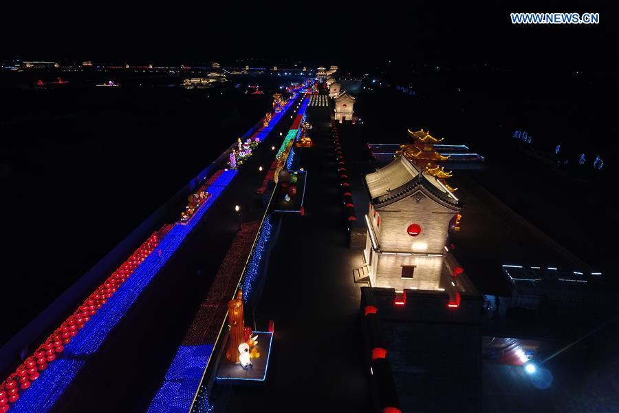 CHINA-SHANXI-TAIYUAN-NIGHT VIEW (CN)