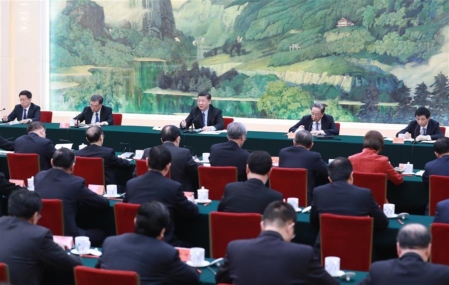 CHINA-BEIJING-XI JINPING-NEW YEAR GREETING (CN)