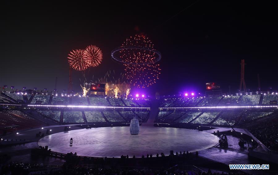 (SP)OLY-SOUTH KOREA-PYEONGCHANG-OPENING CEREMONY