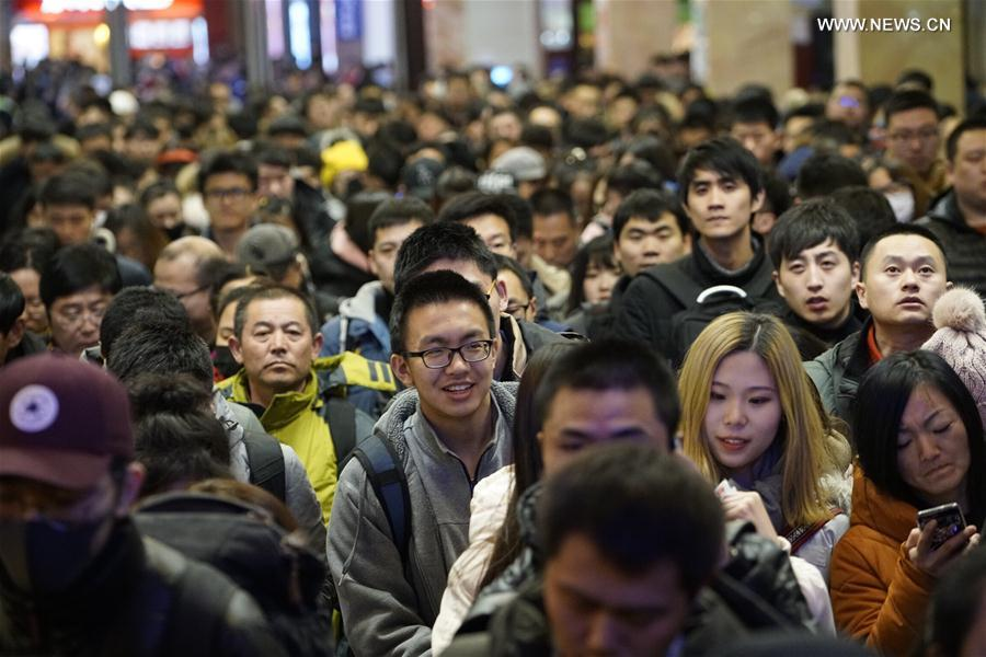 CHINA-BEIJING-SPRING FESTIVAL-TRAVEL RUSH(CN)