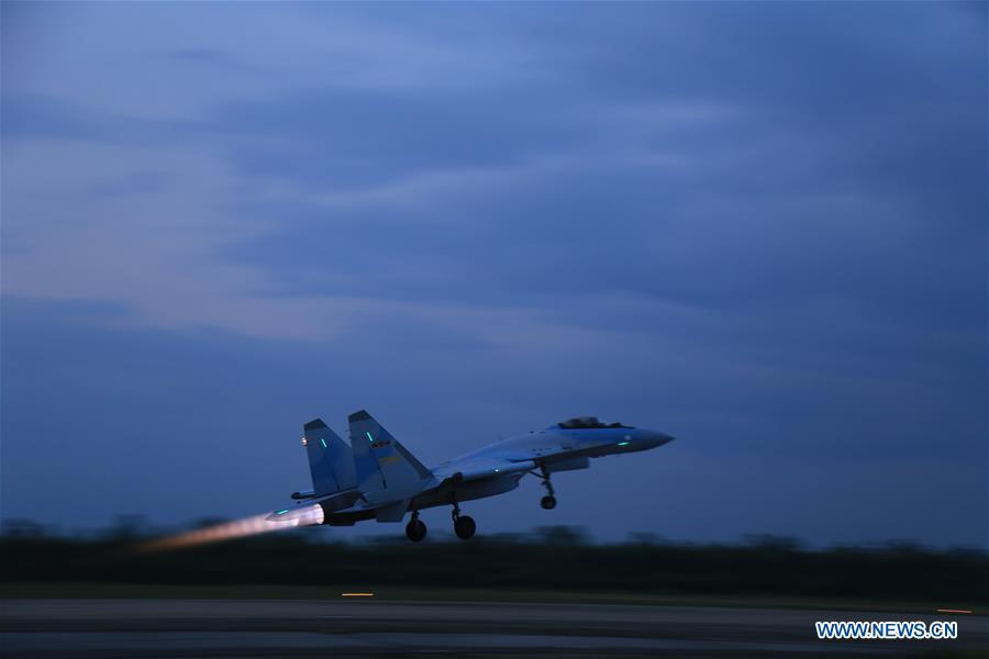 CHINA-SOUTH CHINA SEA-SU-35-PATROL (CN)